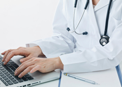 Doctor_typing
